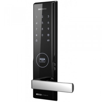 Электронный врезной замок Samsung SHS-H505 FBK/EN (5050)