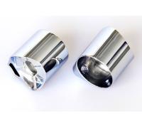 PERCo-BH02 0-10 Патрубок прямой для крепления поручней (в комплекте с крепежом)