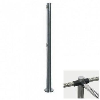 PERCo-BH02 2-03 Трехсторонняя стойка с 6-ю отверстиями для крепления патрубков (углы между парами отверстий 90 и 180 градусов)