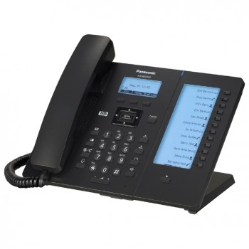 Проводной SIP-телефон Panasonic KX-HDV230RUB (блок питания в комплекте)
