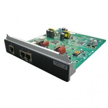 Panasonic KX-NS0180X 2-портовая плата аналоговых внешних линий / 2-портовая плата ТА (SLC2/LCOT2)