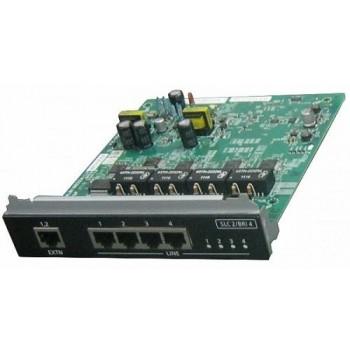 Panasonic KX-NS0280X 4-портовая плата цифровых интерфейсов BRl / 2-портовая плата ТА (SLC2/BRI4)