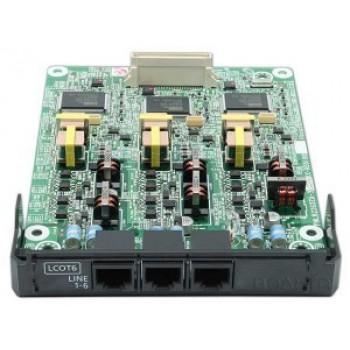 Panasonic KX-NS5180X 6-портовая плата аналоговых внешних линий (LCOT6)