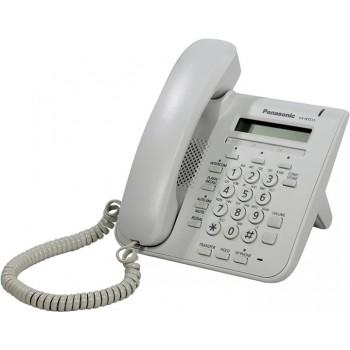 Системный цифровой ip-телефон Panasonic KX-NT511Ru с блоком питания