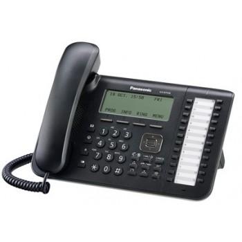 Системный цифровой IP-телефон Panasonic KX-NT546RU-B