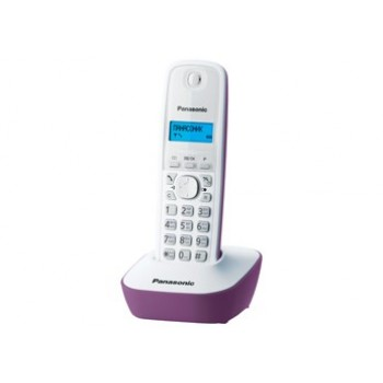 Радиотелефон Panasonic KX-TG1611RuF, сиреневый