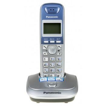 Радиотелефон Panasonic KX-TG2511RuS, серебристый