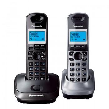 Радиотелефон Panasonic DECT KX-TG2512Ru2 (2 трубки в комплекте)