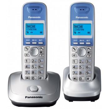 Радиотелефон Panasonic DECT KX-TG2512RuS (2 трубки в комплекте)