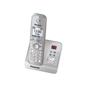 Радиотелефон Panasonic KX-TG6721RuS с цифровым автоответчиком