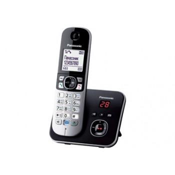 Радиотелефон Panasonic KX-TG6821RuB, черный