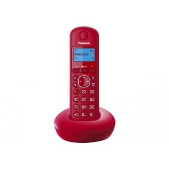 Радиотелефон Panasonic KX-TGB210RuR, красный