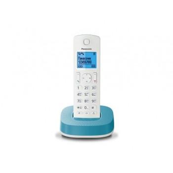 Радиотелефон Panasonic KX-TGC310RUC, бело-синий