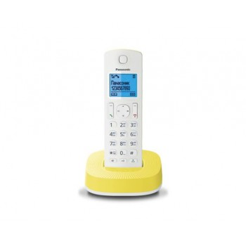 Радиотелефон Panasonic KX-TGC310RUY, бело-желтый