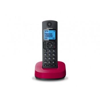 Радиотелефон Panasonic KX-TGC310RUR, черно-красный