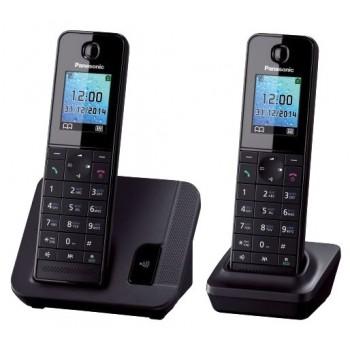 Радиотелефон Panasonic KX-TGH212RuB (2 трубки в комплекте)