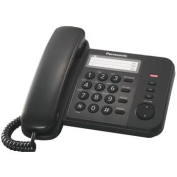 Проводной телефон Panasonic KX-TS2352RUB с индикатором вызова