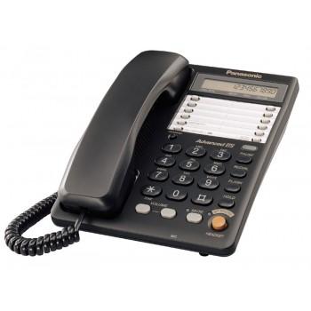 Проводной телефон для офиса Panasonic KX-TS2365RUB