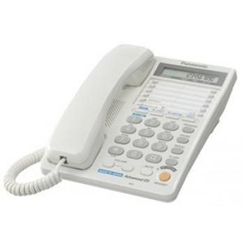 Проводной телефон Panasonic KX-TS2368RUW (2 телефонные линии)