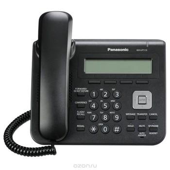 Проводной SIP-телефон Panasonic KX-UT123RuB