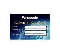 Ключ активации 8 IP-телефонов или 8 IP Softphone Panasonic KX-NCS3208WJ