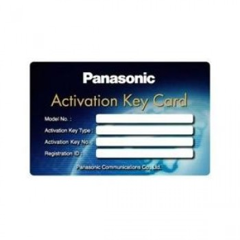Ключ активации Panasonic KX-NSM705W 5 внутренних SlP-абонентов (5 SIP Extension) Third Party