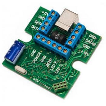 Адаптер для программирования автономных контроллеров и считывателей IronLogic Z-2 Base через компьютер