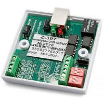 Конвертер IronLogic Z-397 USB/RS-485/422 с гальванической развязкой