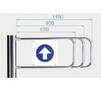 Створка для калитки PERCo-AG-900
