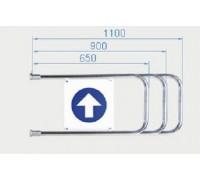 Створка для калитки PERCo-AGW-650