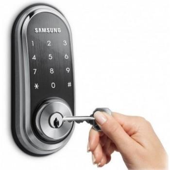 Врезной электронный дверной замок Samsung SHP-DS510