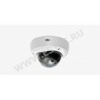 RVi-125 : Антивандальная камера видеонаблюдения с ИК-подсветкой (2.8-12 мм)