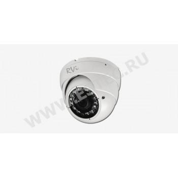 RVi-125C : Антивандальная камера видеонаблюдения с ИК-подсветкой (2.8-12 мм)