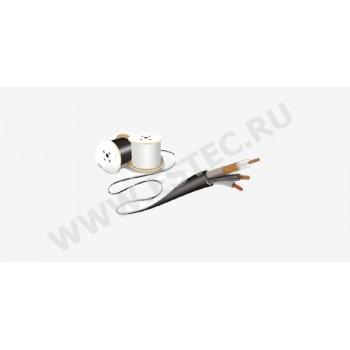 Комбинированный кабель для видеонаблюдения Pk 75+2x0,75-64 (уличный)