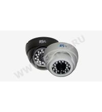 RVi-E125 : Купольная камера видеонаблюдения c ИК-подсветкой (3.6 мм)