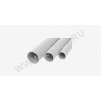 Гладкая жесткая труба ПВХ 16 ж. трубы 3-х метровые ПВХ(150 м/уп)