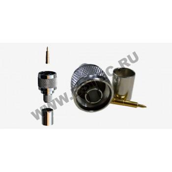 Разъем для кабеля 8D-FB (обжим)
