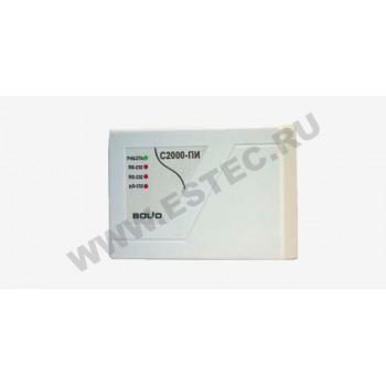 C2000-ПИ преобразователь интерфейсов RS-232/RS-485, повторитель интерфейса RS-485 с гальванической развязкой